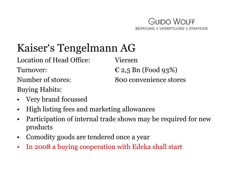 Kaiser's Tengelmann AG