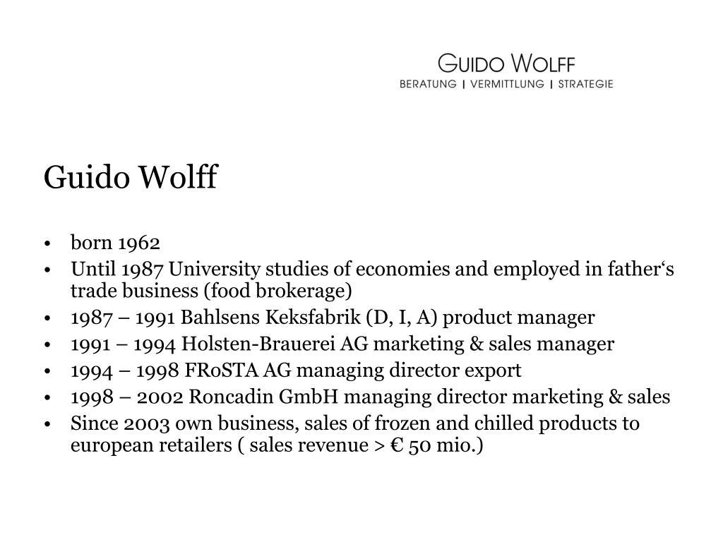 Guido Wolff
