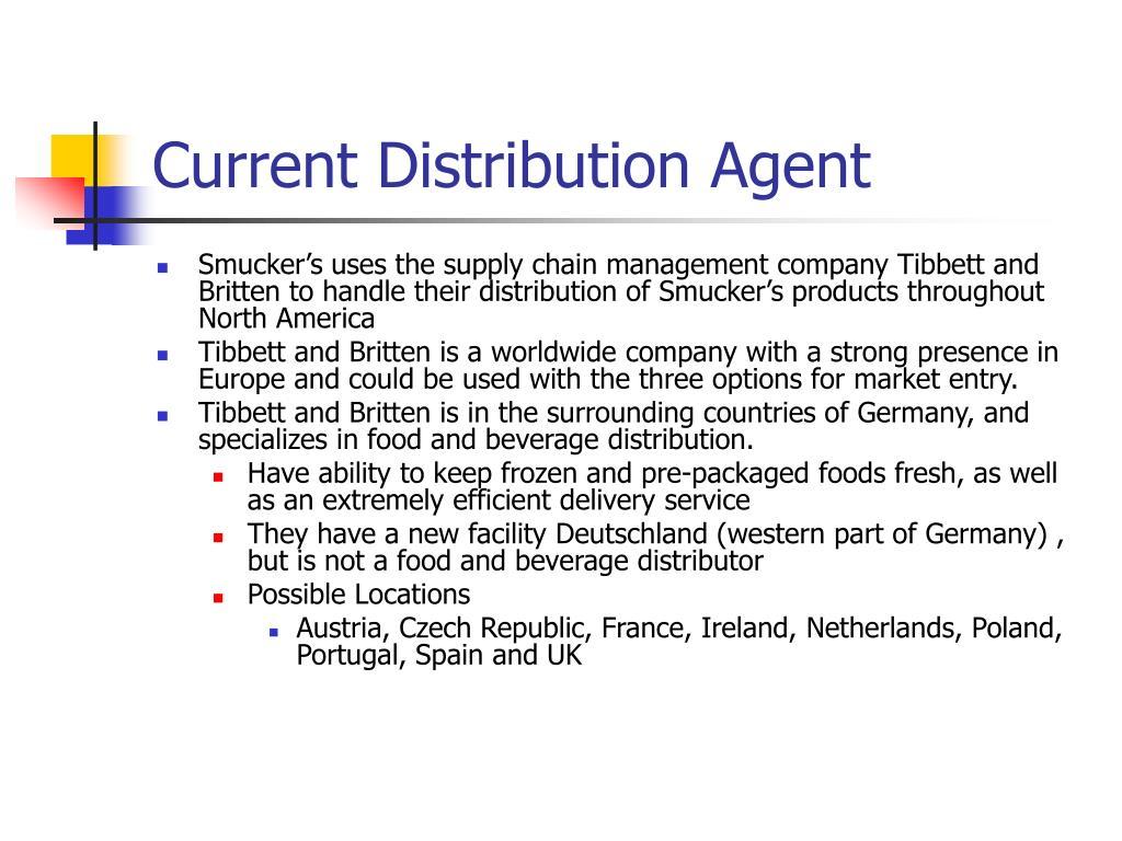 Current Distribution Agent