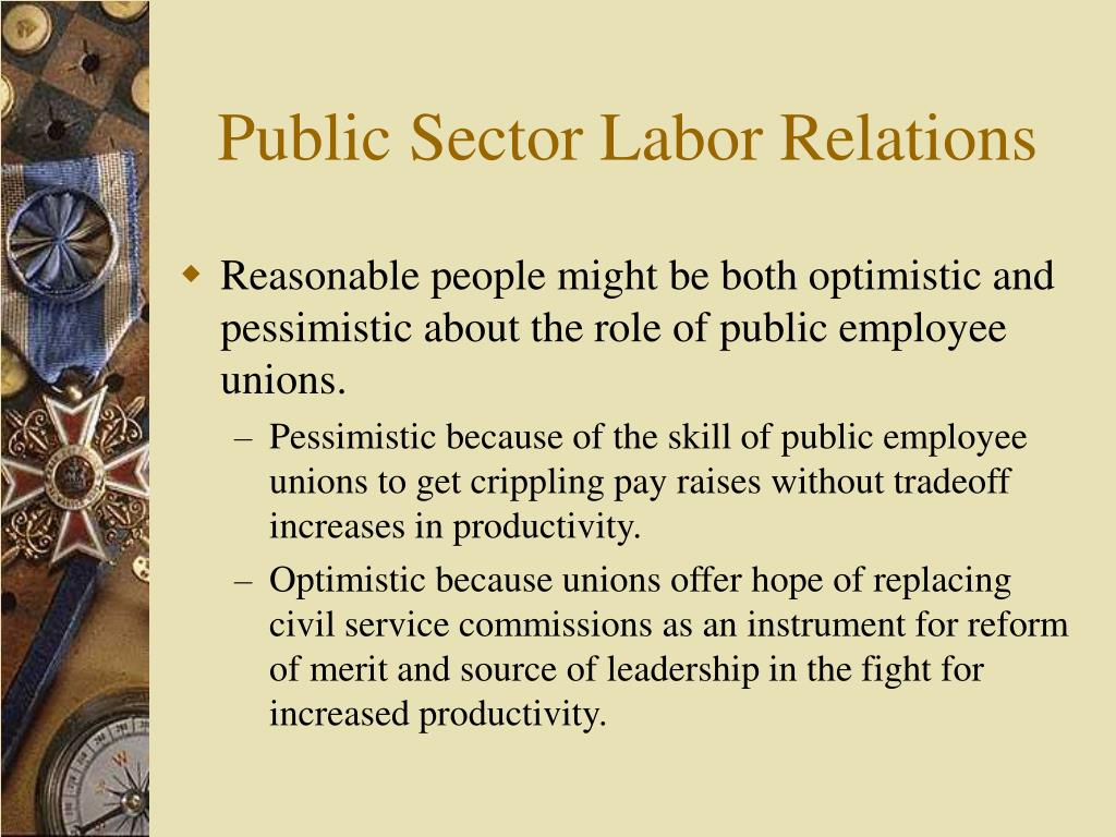 Public Sector Labor Relations