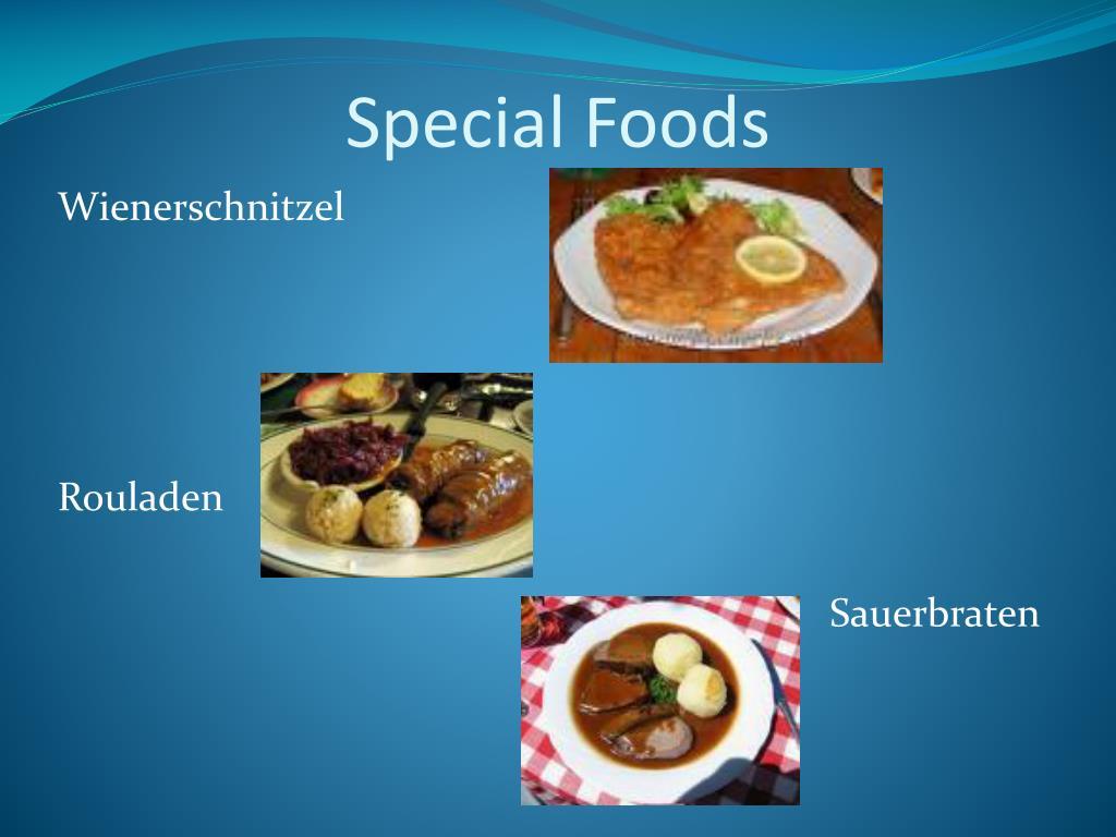 Special Foods