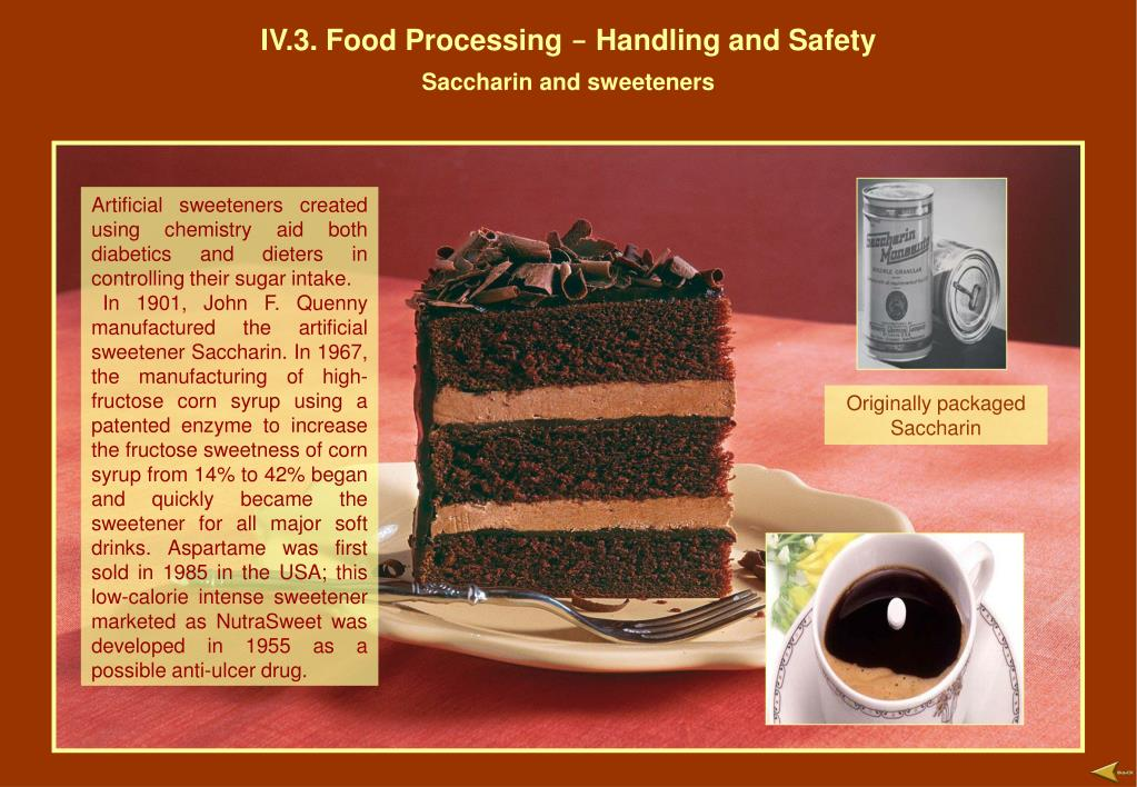IV.3. Food Processing