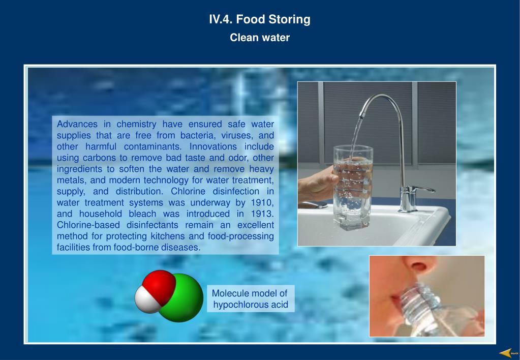 IV.4. Food Storing