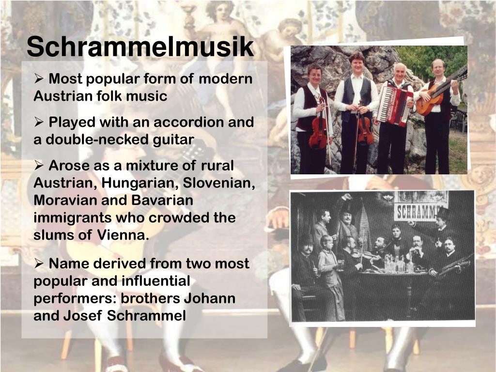 Schrammelmusik