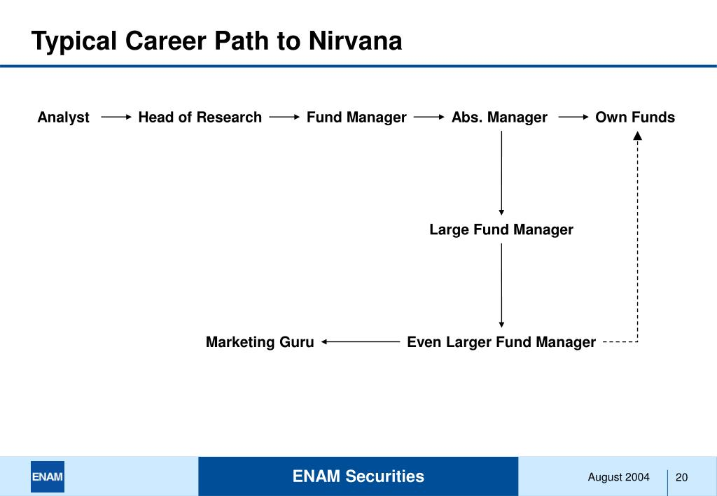 Typical Career Path to Nirvana