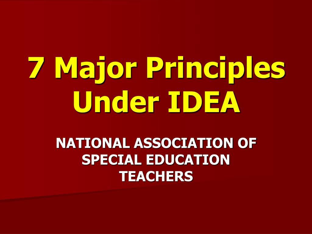6 Key Ideas of IDEA