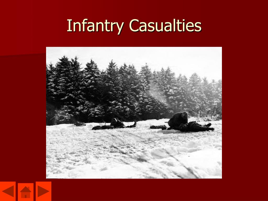 Infantry Casualties