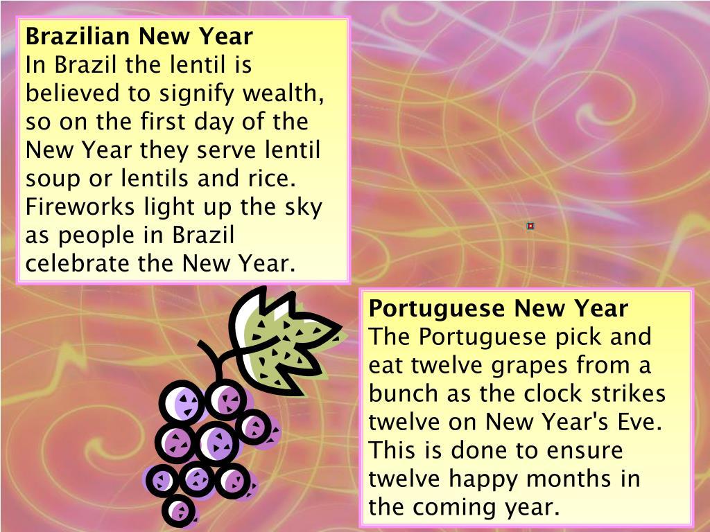 Brazilian New Year