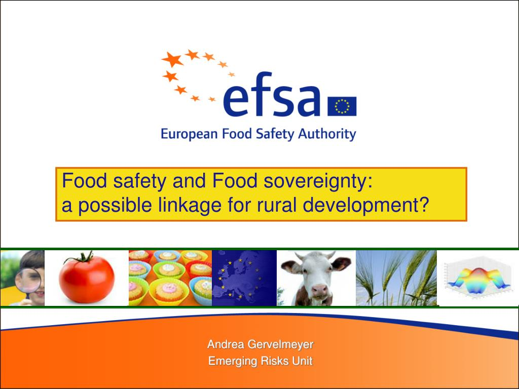 Food safety and Food sovereignty: