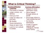 what is critical thinking8