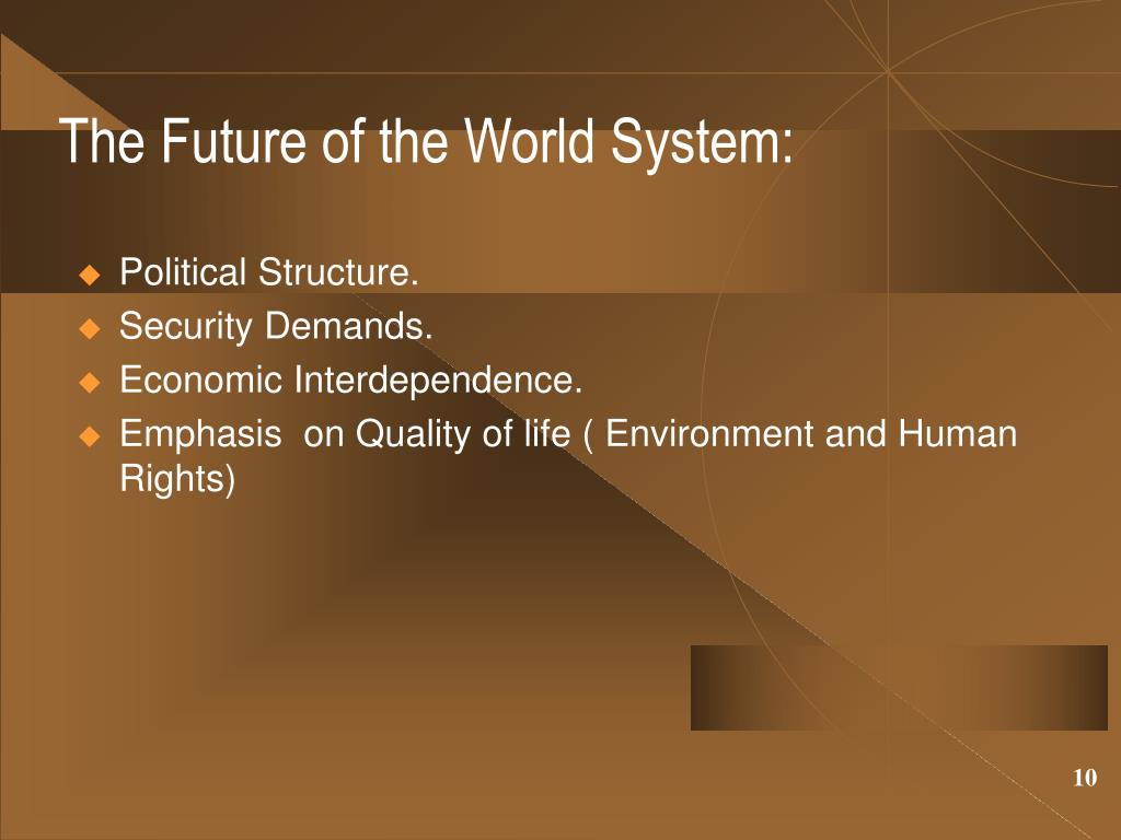 The Future of the World System:
