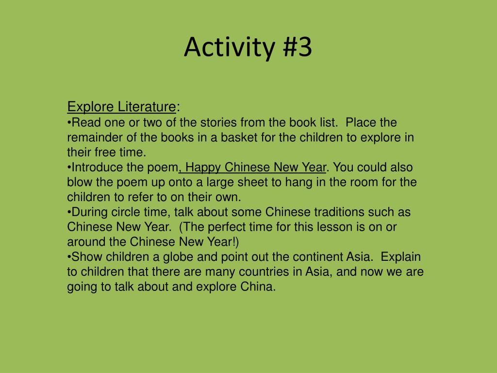 Activity #3