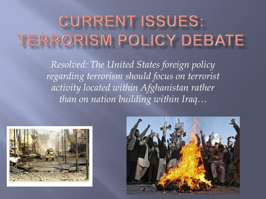 A Global Controversy: The U.S. Invasion of Iraq