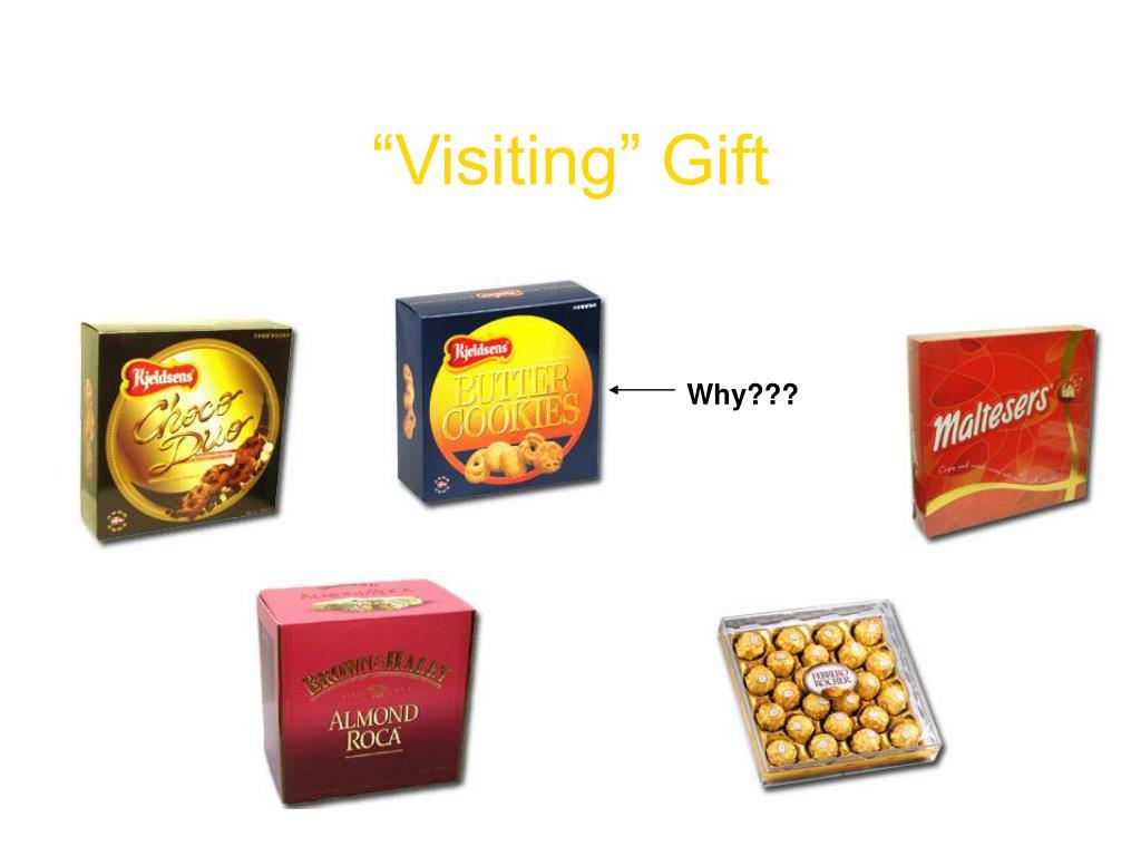 """""""Visiting"""" Gift"""