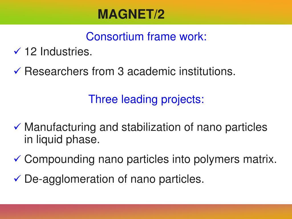 Consortium frame work: