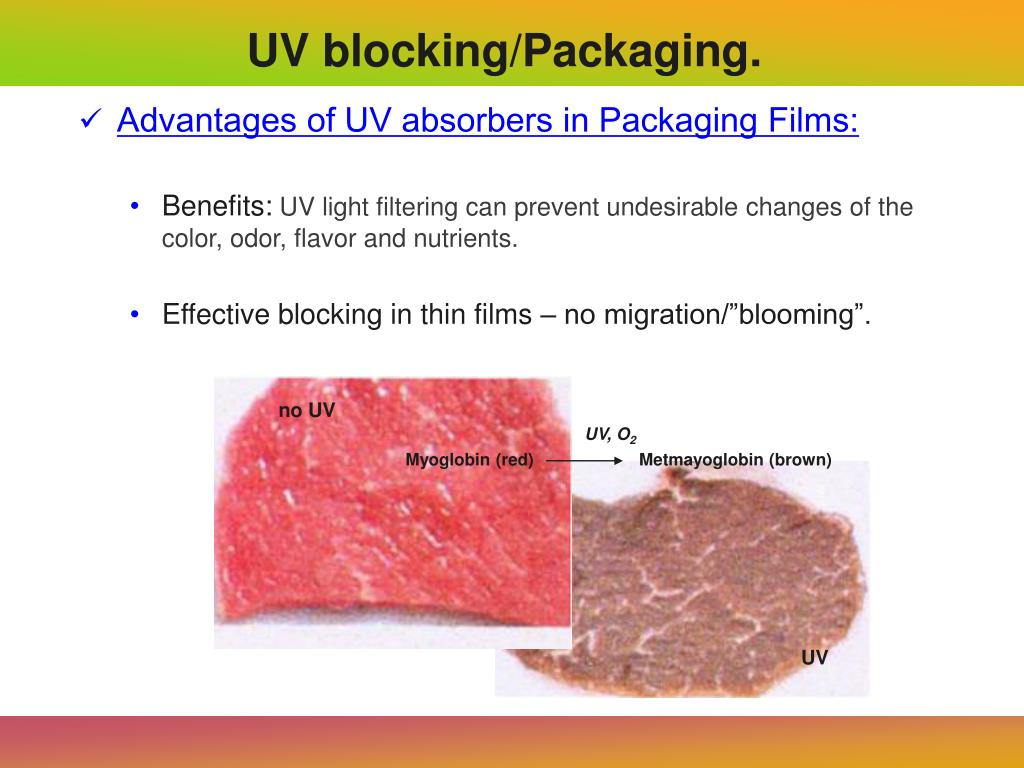 Advantages of UV absorbers in Packaging Films:
