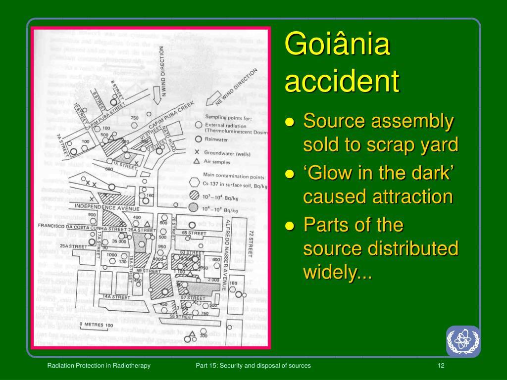Goiânia accident