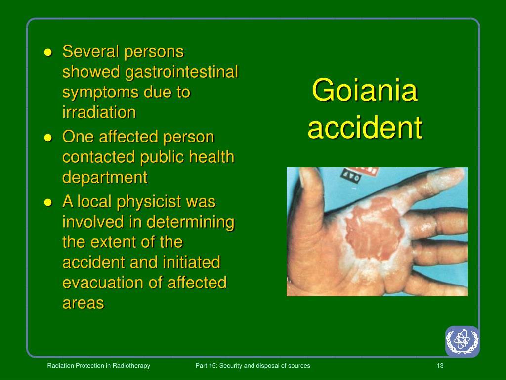Goiania accident