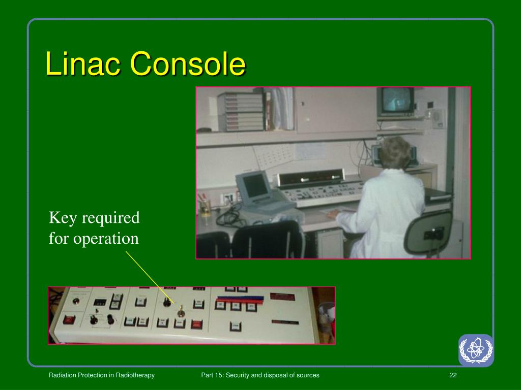 Linac Console
