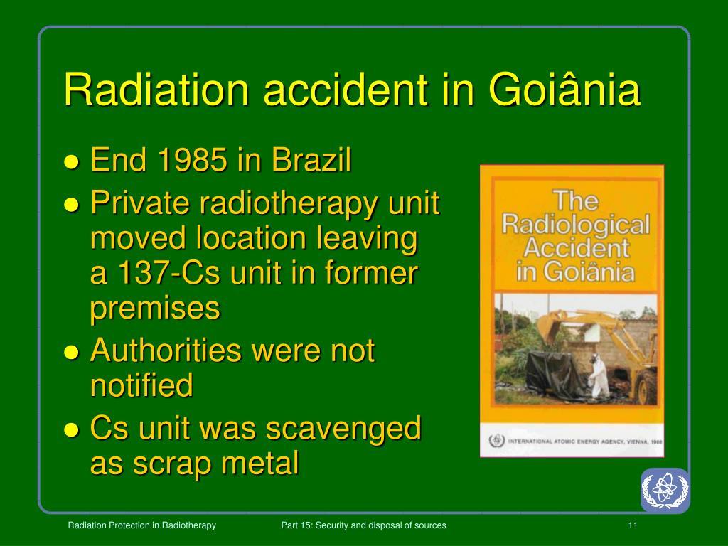 Radiation accident in Goiânia