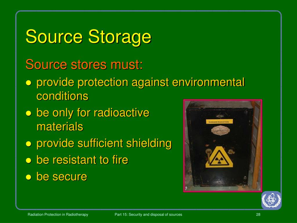 Source Storage