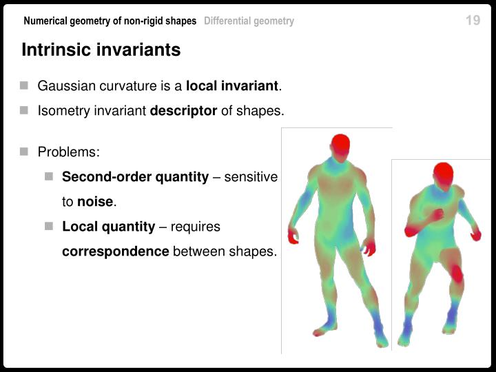 Intrinsic invariants