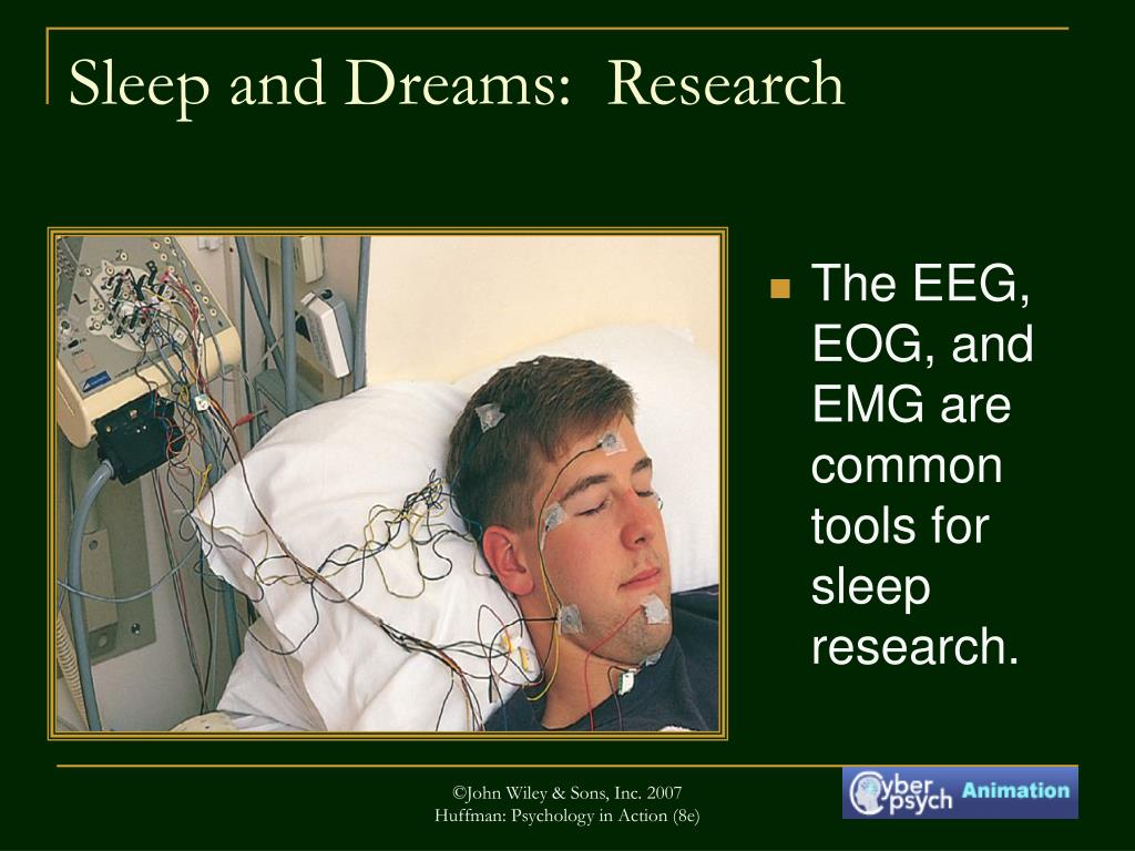 The EEG, EOG, and EMG are common tools for sleep research.