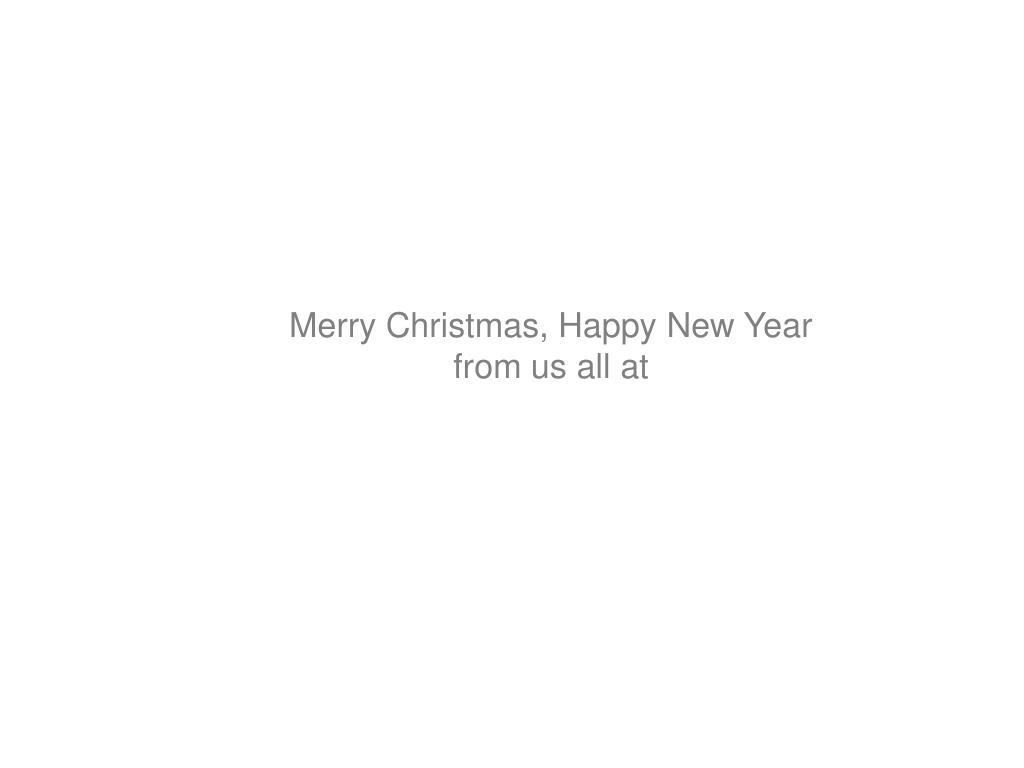 Merry Christmas, Happy New Year