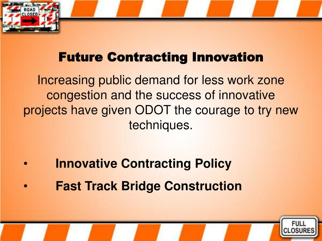 Future Contracting Innovation