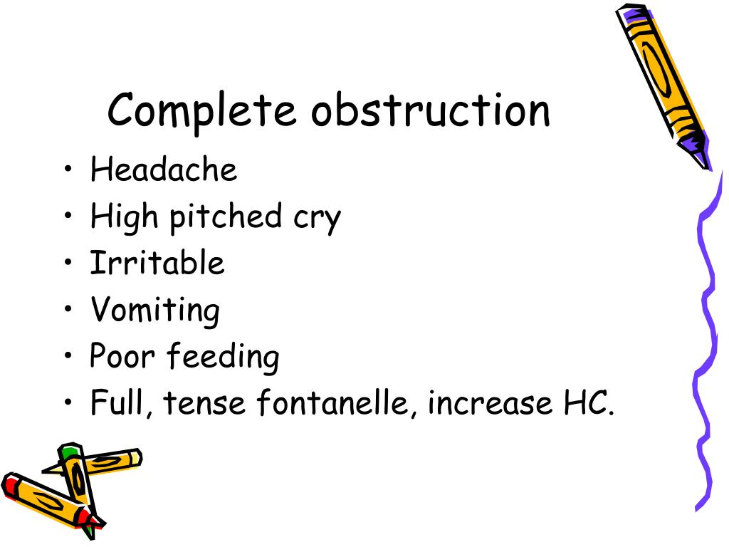 Complete obstruction