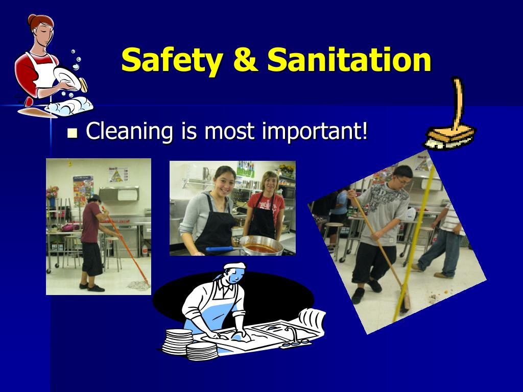 Safety & Sanitation