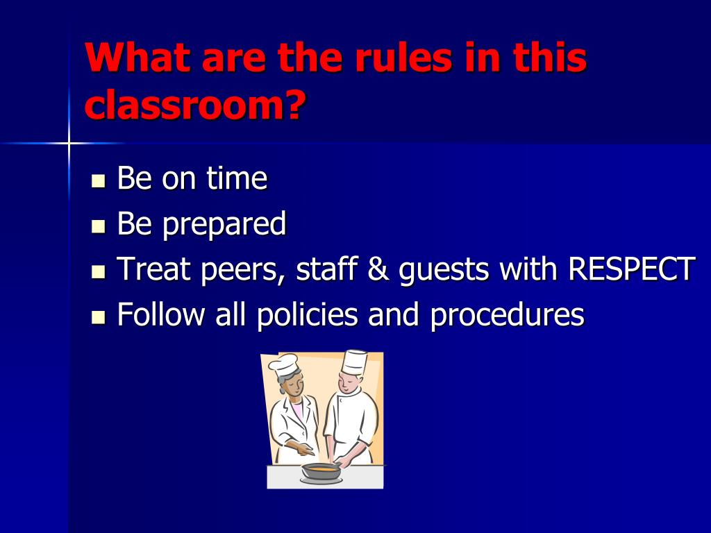 What are the rules in this classroom?