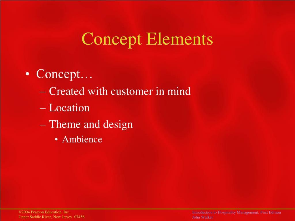 Concept Elements