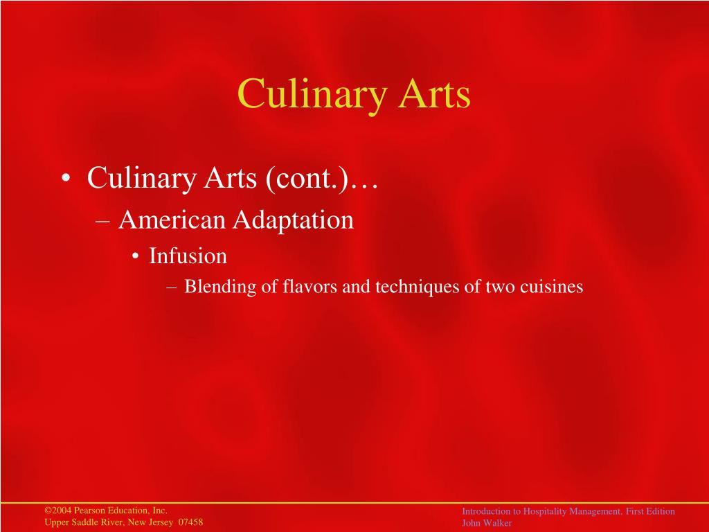 Culinary Arts