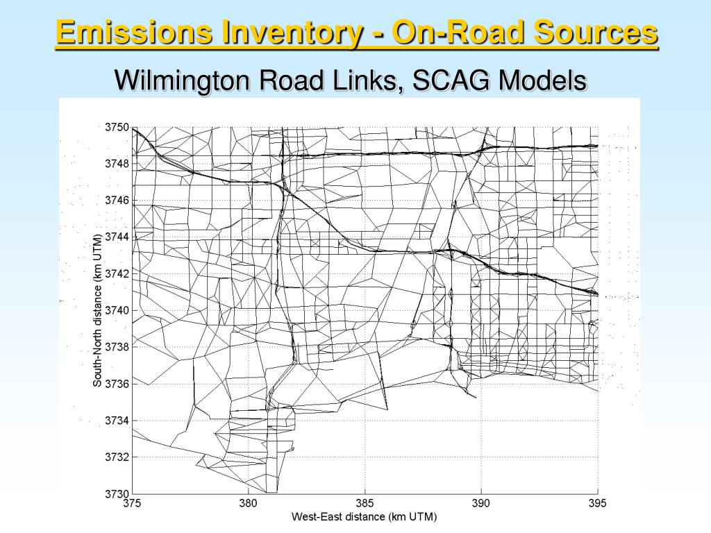 Emissions Inventory - On-Road Sources