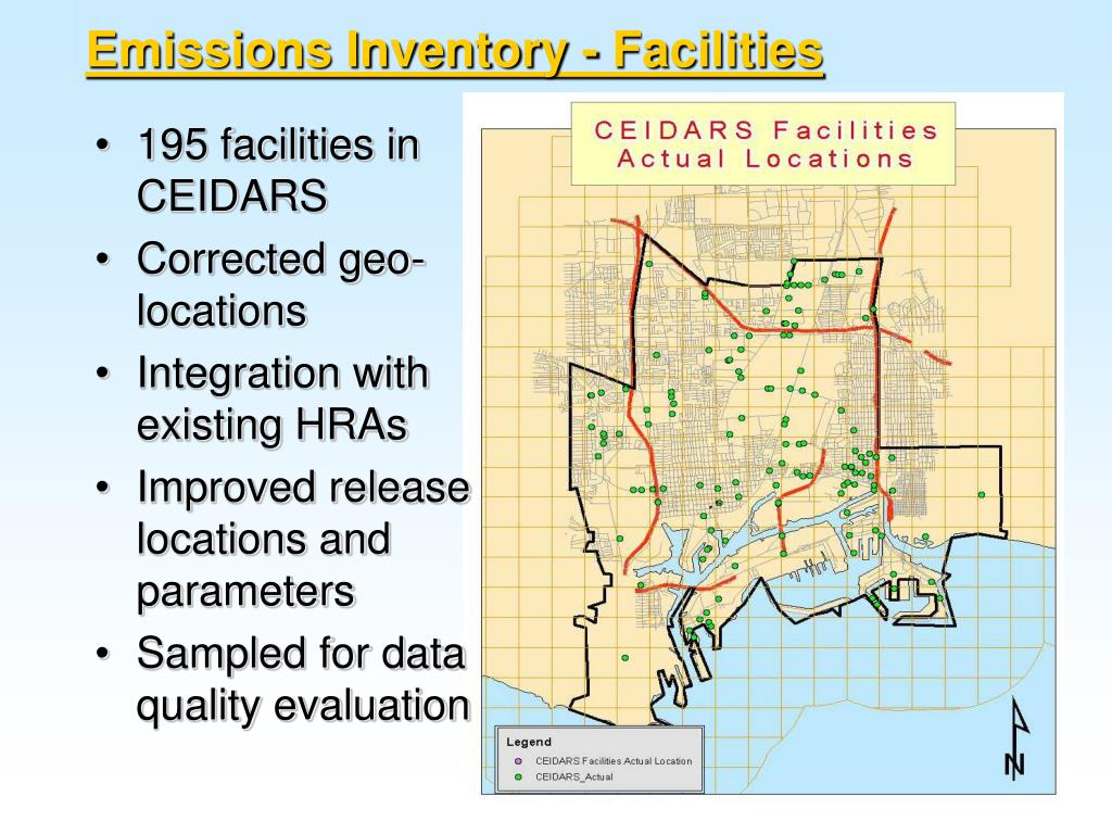 Emissions Inventory - Facilities