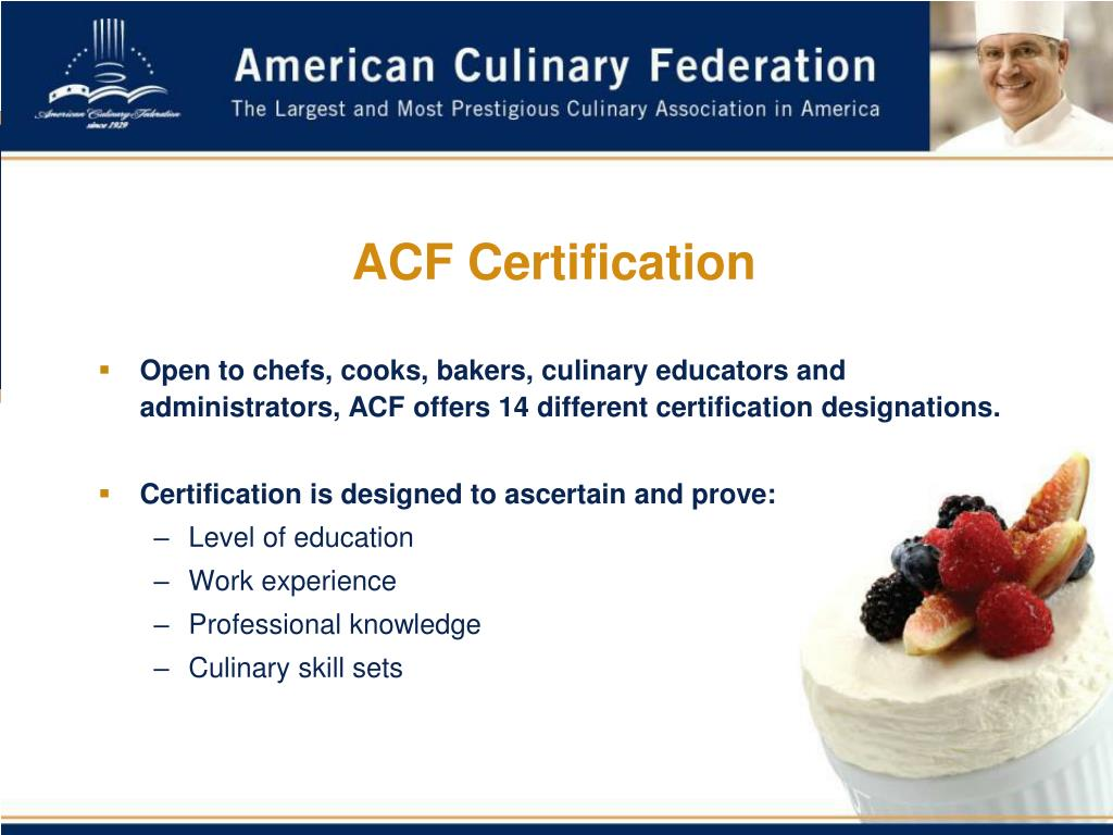 ACF Certification