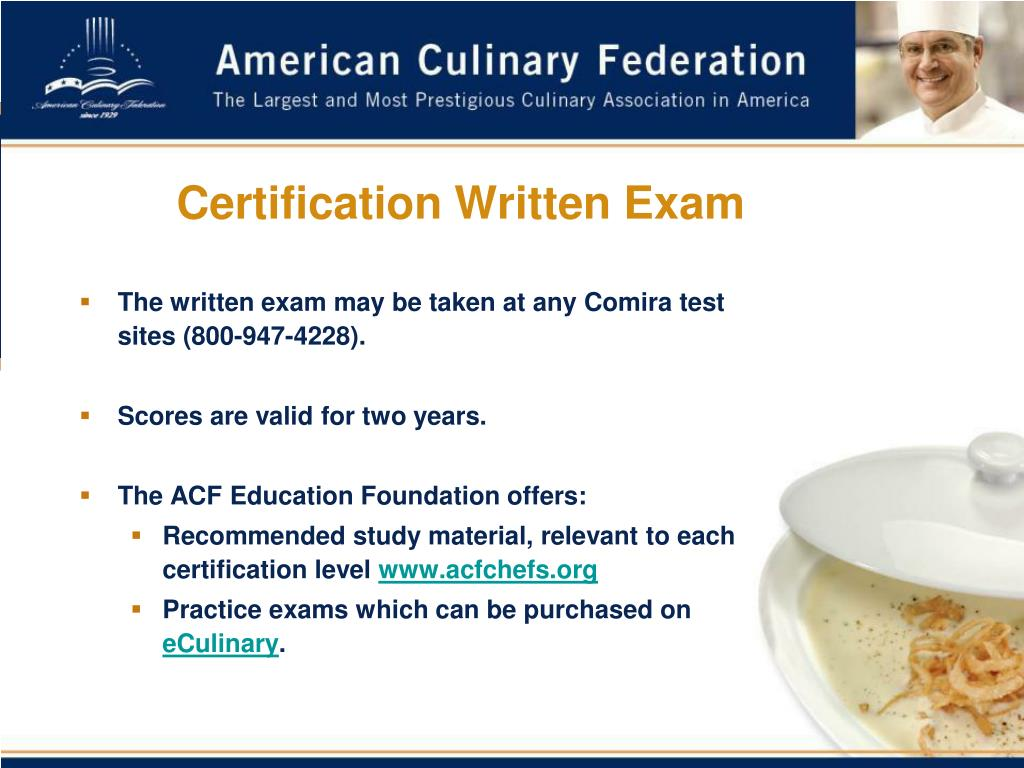 Certification Written Exam