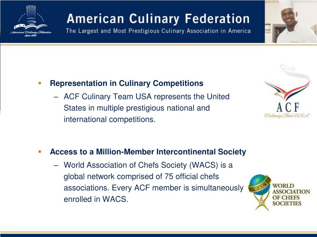 Representation in Culinary Competitions