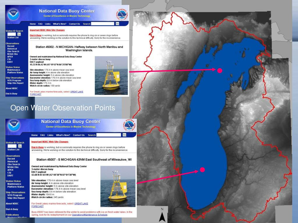 Open Water Observation Points