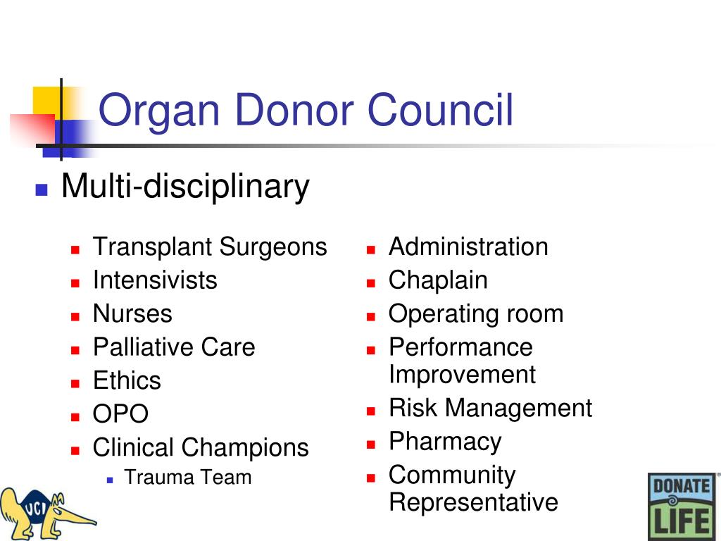 Organ Donor Council