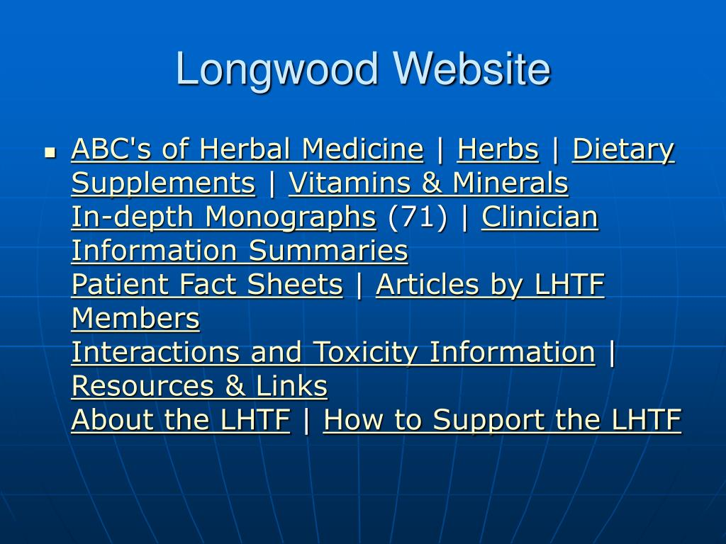 Longwood Website