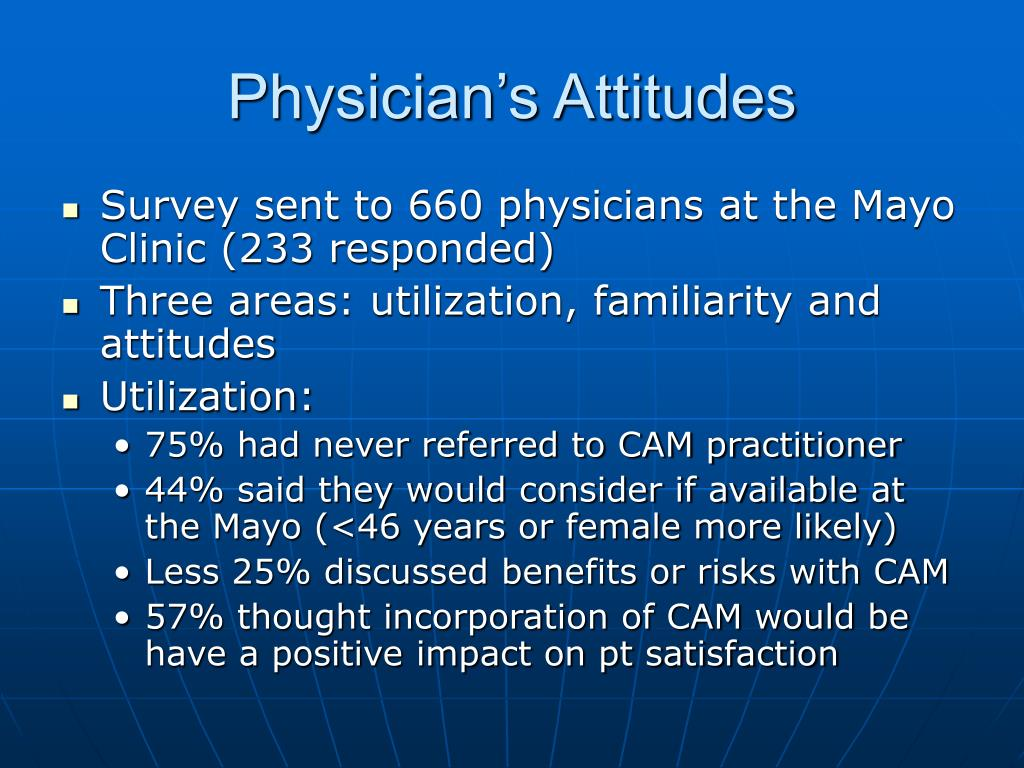 Physician's Attitudes