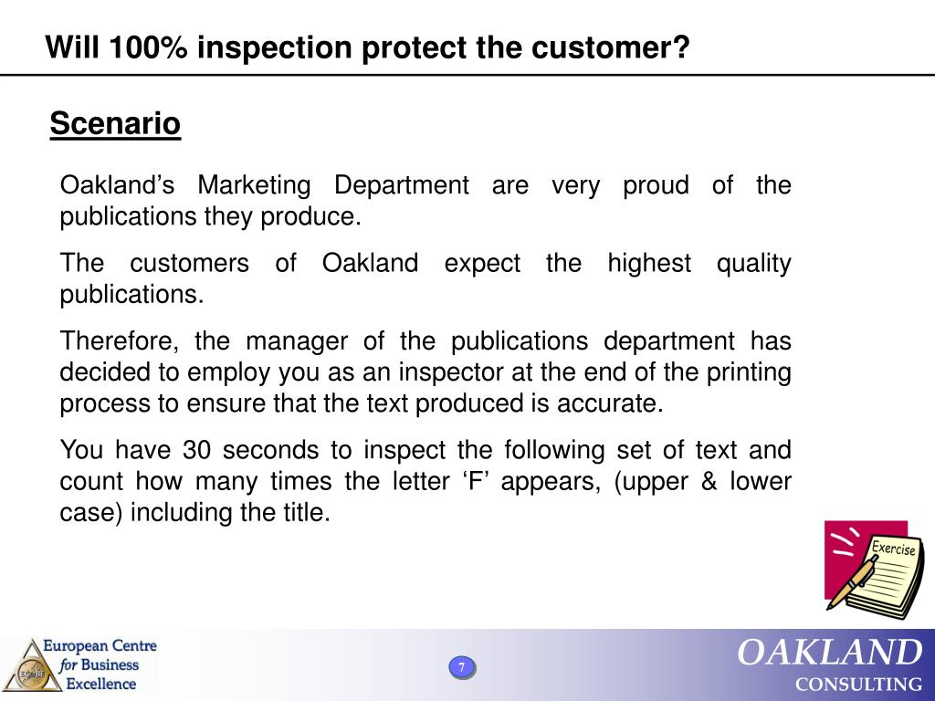 Will 100% inspection protect the customer?