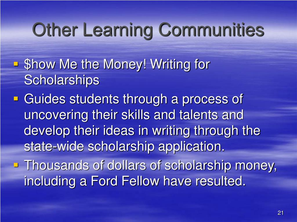 Other Learning Communities