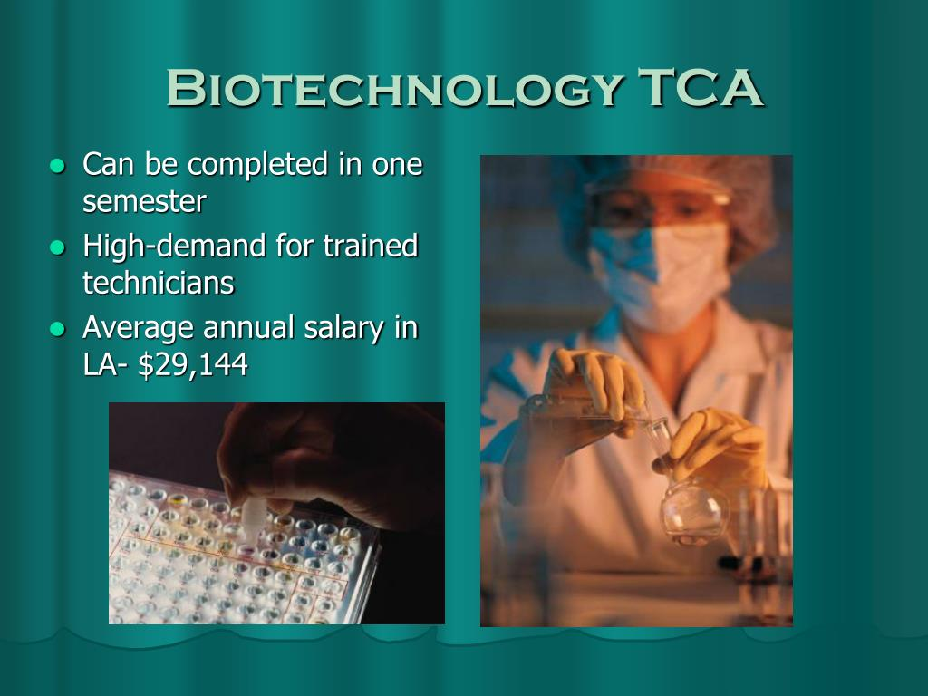 Biotechnology TCA