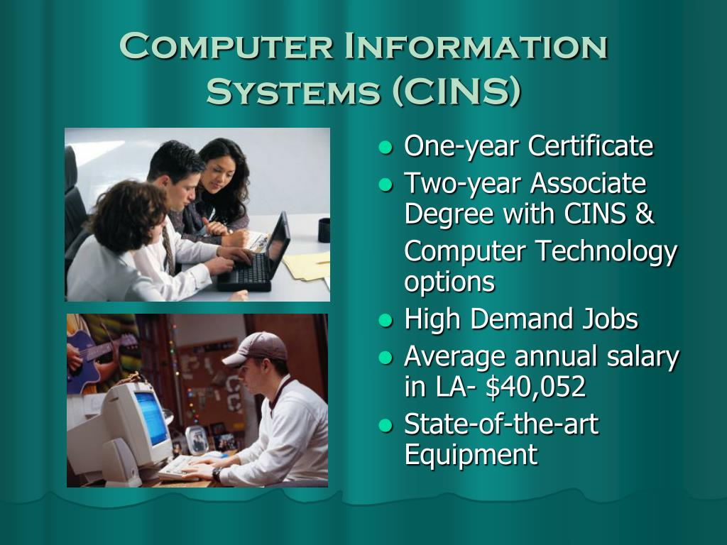 Computer Information Systems (CINS)
