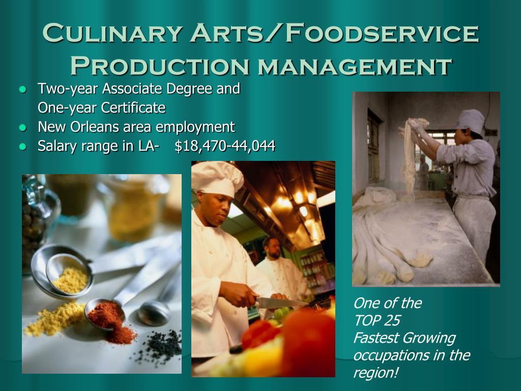 Culinary Arts/Foodservice