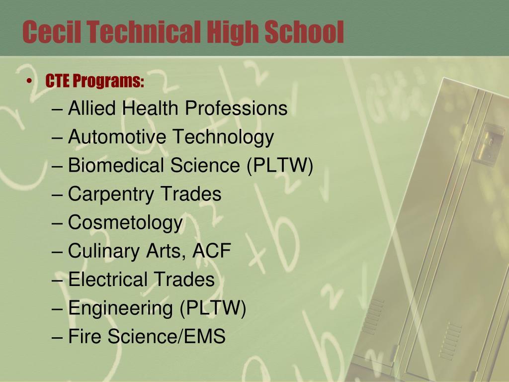 Cecil Technical High School