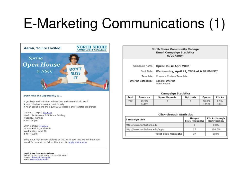 E-Marketing Communications (1)